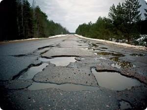плохие дороги россия