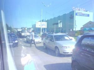 пешеход нарушает ПДД