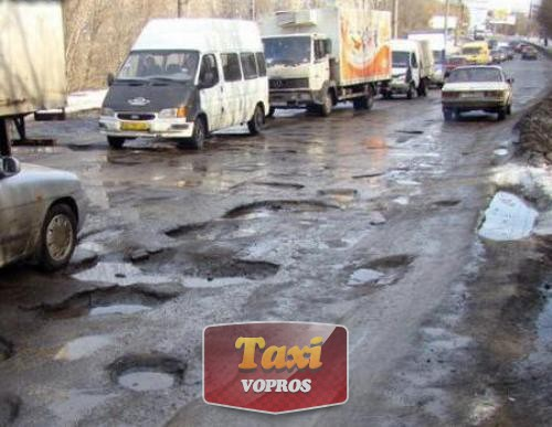 Весна: почему в России плохие дороги