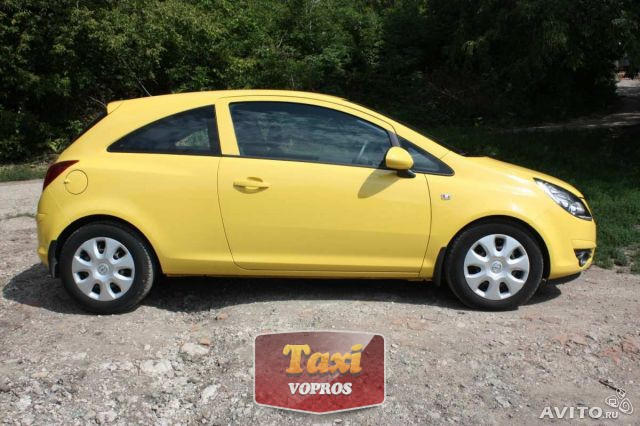 Серийный выпуск желтых авто на АвтоВАЗе (Лада такси)