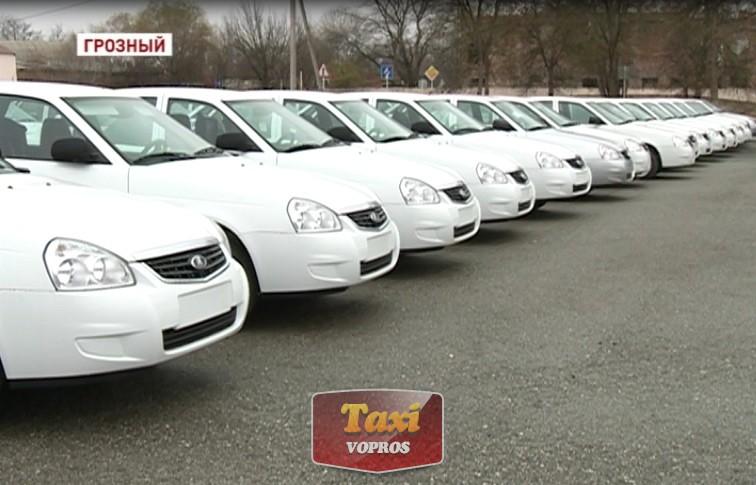 Рынок такси: желтые Фольксваген Поло и Лада Веста