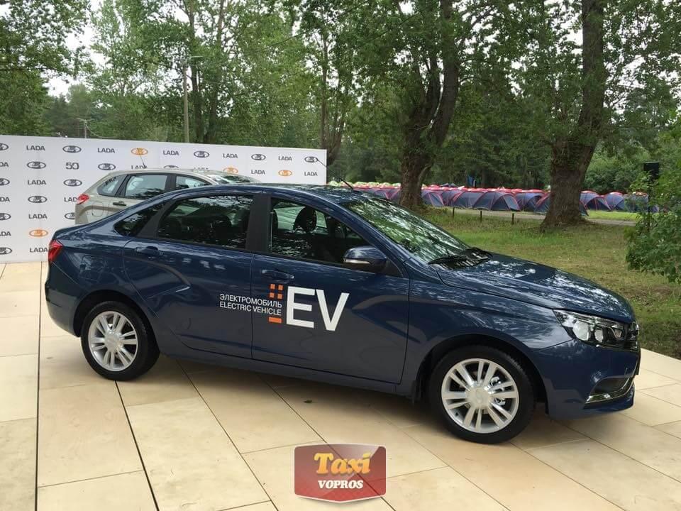 Электрическая Лада Веста (Lada Vesta EV)